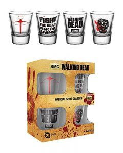 GB Eye LTD, The Walking Dead, Symbols, 20 ML Verre à Shot de la marque GB Eye image 0 produit
