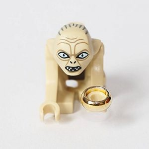 LEGO The Lord of the Rings / The Hobbit Minifigur : GOLLUM with Ring (79000) de la marque Lego image 0 produit