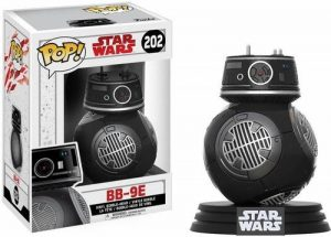 Star Wars Episode 8 - The Last Jedi - BB-9E Vinyl Bobble-Head 202 Figurine de Collection de la marque Funko Pop! Star Wars: image 0 produit