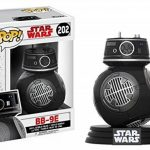 Star Wars Episode 8 - The Last Jedi - BB-9E Vinyl Bobble-Head 202 Figurine de Collection de la marque Funko Pop! Star Wars: image 1 produit
