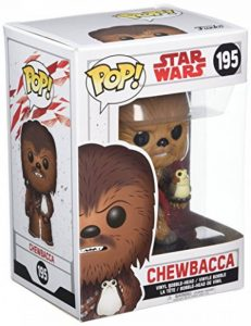 Star Wars The Last Jedi Funko Pop Chewbacca de la marque Funko Pop! Star Wars: image 0 produit