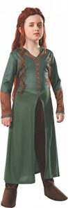 The Hobbit: Desolation of Smaug, Child Tauriel Costume, Medium - Medium One Color de la marque Rubies image 0 produit