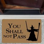 You Shall Not Pass Custom Paillassons,40x60cm ,Multicolor de la marque Eureya image 2 produit